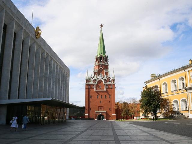"""Điện Kremlin - """"trái tim của thủ đô Moscow""""  - 1"""
