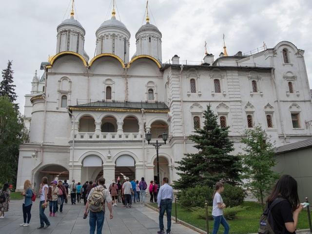 """Điện Kremlin - """"trái tim của thủ đô Moscow""""  - 9"""