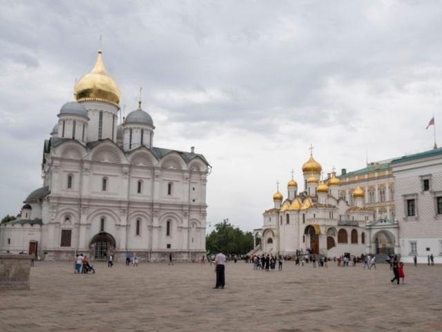 """Điện Kremlin - """"trái tim của thủ đô Moscow""""  - 12"""