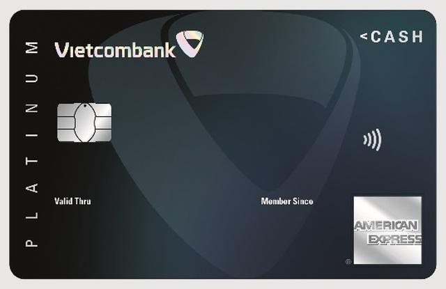 Thẻ Vietcombank Cashplus Platinum American Express - Thẻ tín dụng hoàn tiền cạnh tranh thị trường - 1