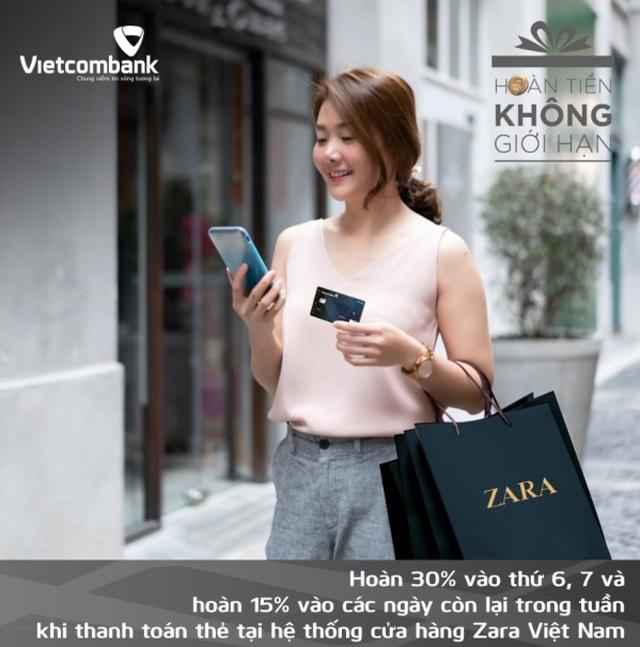 Thẻ Vietcombank Cashplus Platinum American Express - Thẻ tín dụng hoàn tiền cạnh tranh thị trường - 3