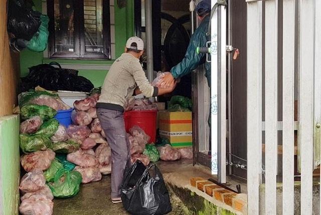 Phạt chủ cơ sở trữ 8 tấn thịt heo bốc mùi hôi thối hơn 100 triệu đồng - 1