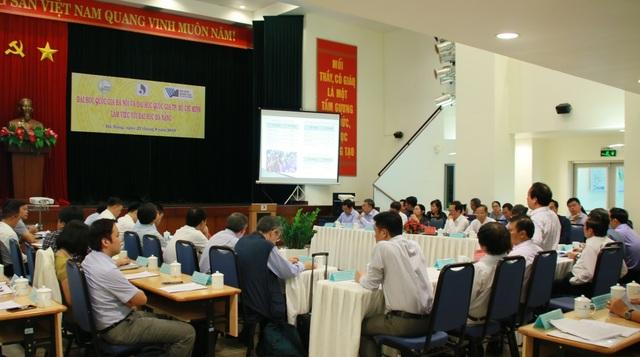 ĐH Đà Nẵng lần đầu làm việc chung với hai đại học quốc gia - 1