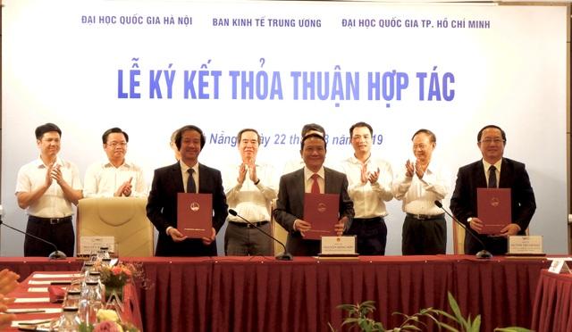 ĐH Đà Nẵng lần đầu làm việc chung với hai đại học quốc gia - 2