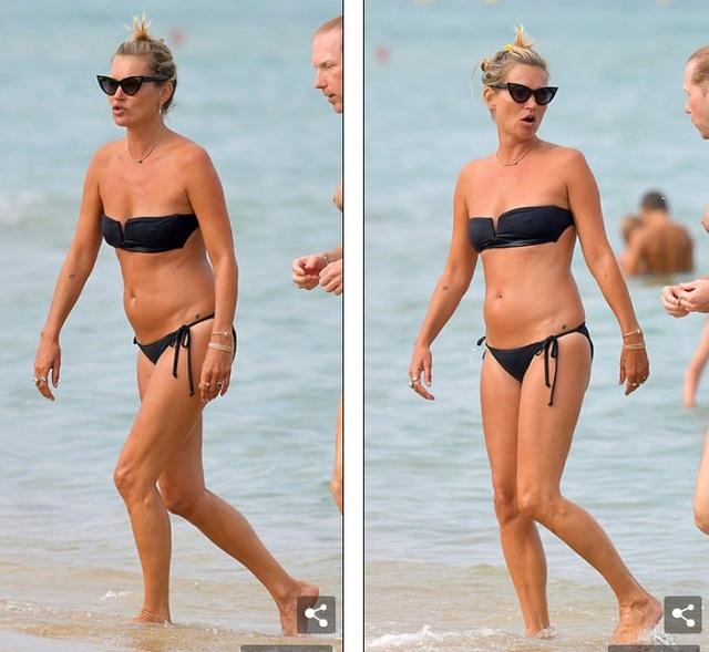 Kate Moss vẫn trẻ trung ở tuổi 45 - 6