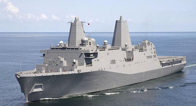 Tàu chiến Mỹ đi qua eo biển Đài Loan giữa lúc căng thẳng với Trung Quốc - 1