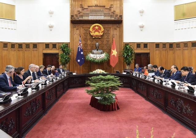 Thủ tướng Việt Nam - Australia quan ngại sâu sắc về diễn biến trên Biển Đông - 1