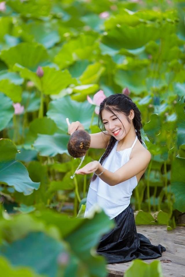 Nữ sinh trường Tài chính xinh đẹp, sở hữu nhiều thành tích thi hoa khôi - 9