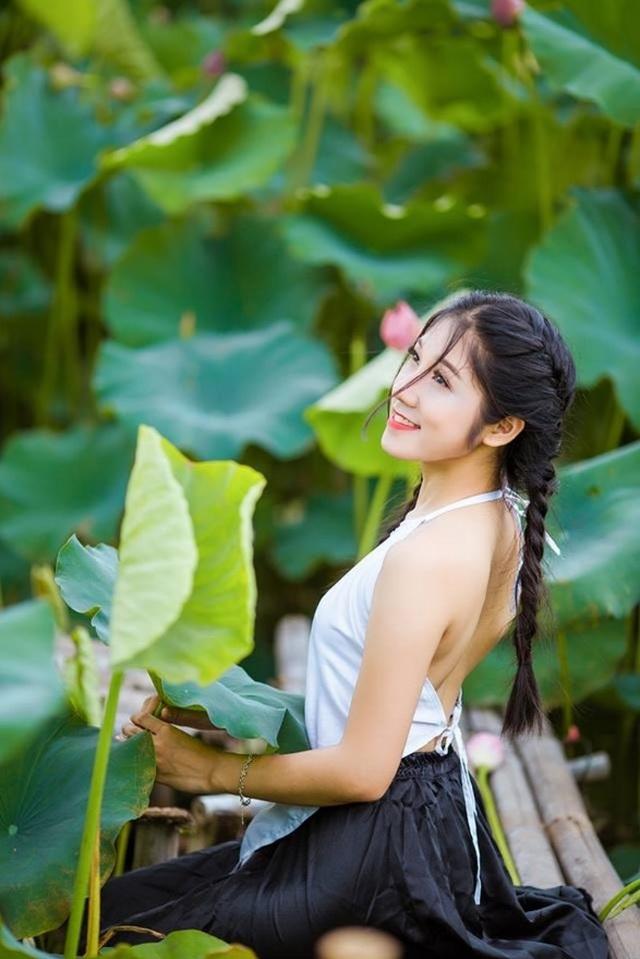 Nữ sinh trường Tài chính xinh đẹp, sở hữu nhiều thành tích thi hoa khôi - 4