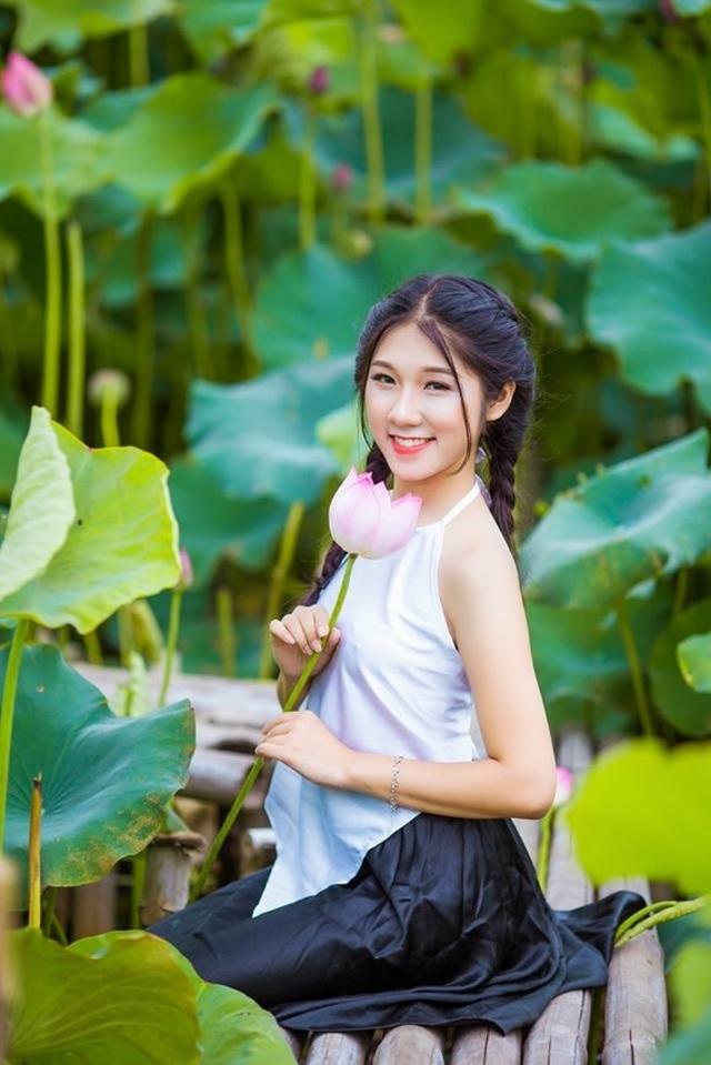 Nữ sinh trường Tài chính xinh đẹp, sở hữu nhiều thành tích thi hoa khôi - 10