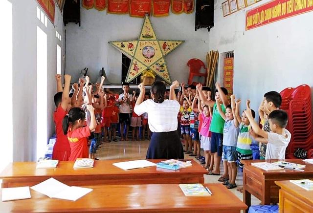 Sinh viên mở lớp dạy tiếng Anh miễn phí cho học sinh dịp hè - 3