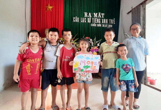 Sinh viên mở lớp dạy tiếng Anh miễn phí cho học sinh dịp hè - 4