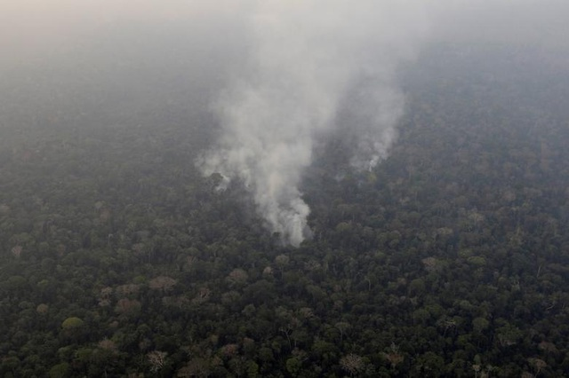 Ảnh: Giật mình trước mức độ cháy rừng ở Amazon - lá phổi của hành tinh - 9