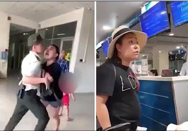 """Cấm bay 1 năm nữ công an """"mạt sát"""" nhân viên sân bay - 1"""