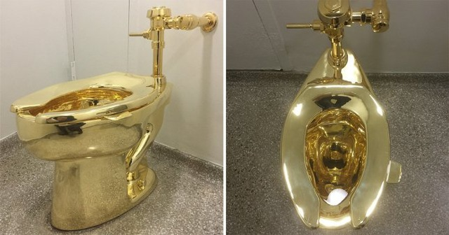 Cung điện Anh lắp bồn cầu vàng 1,2 triệu USD cho khách sử dụng - 1