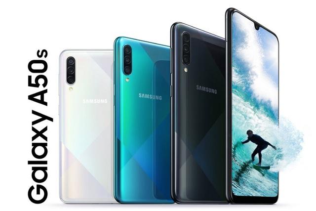Samsung trình làng bộ đôi smartphone tầm trung với 3 camera, cảm biến vân tay dưới màn hình - 1