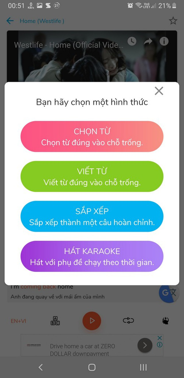 Ứng dụng giúp học tiếng Anh qua lời bài hát cực thú vị và hữu ích - 4