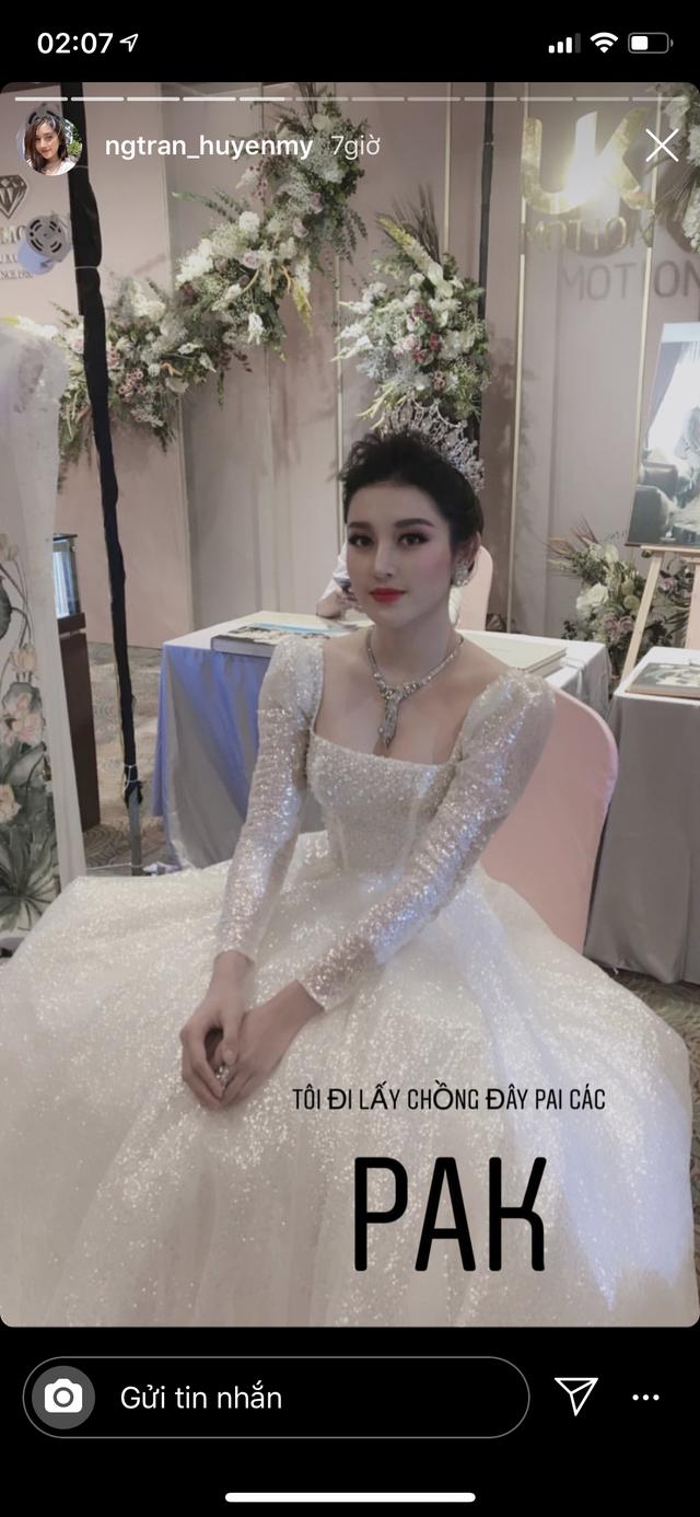 """Á hậu Huyền My bất ngờ tuyên bố """"đi lấy chồng"""" - 1"""