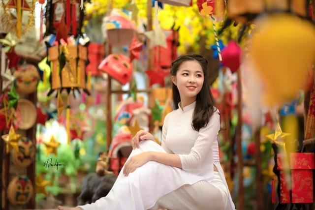 Bộ ảnh mở màn mùa Trung thu của thiếu nữ Hà Nội - 5
