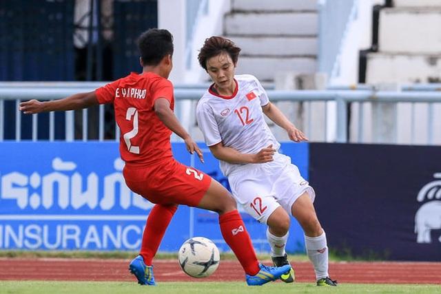 Đội tuyển nữ Việt Nam sẵn sàng cho trận bán kết giải Đông Nam Á - 1