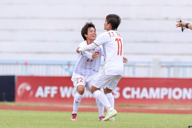 Ngược dòng hạ Philippines, đội tuyển nữ Việt Nam vào chung kết giải Đông Nam Á - 1