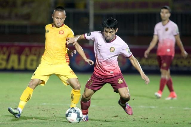 CLB Thanh Hoá bị Sài Gòn FC đẩy vào khu vực nguy hiểm - 5