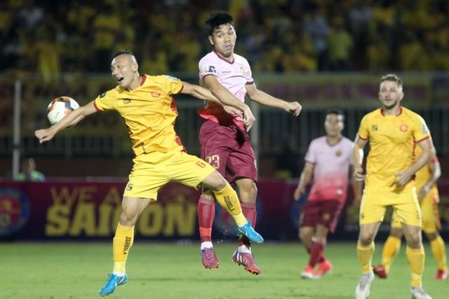 CLB Thanh Hoá bị Sài Gòn FC đẩy vào khu vực nguy hiểm - 3