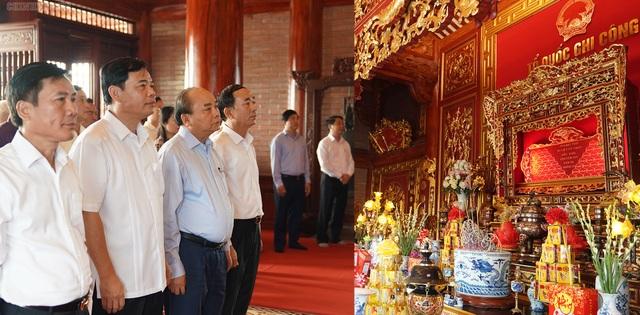 Thủ tướng thăm và làm việc tại Thái Nguyên, Bắc Kạn - 5