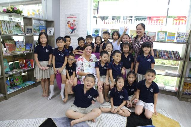 Phu nhân Thủ tướng Úc tham gia giờ đọc sách với học sinh Việt Nam - 5