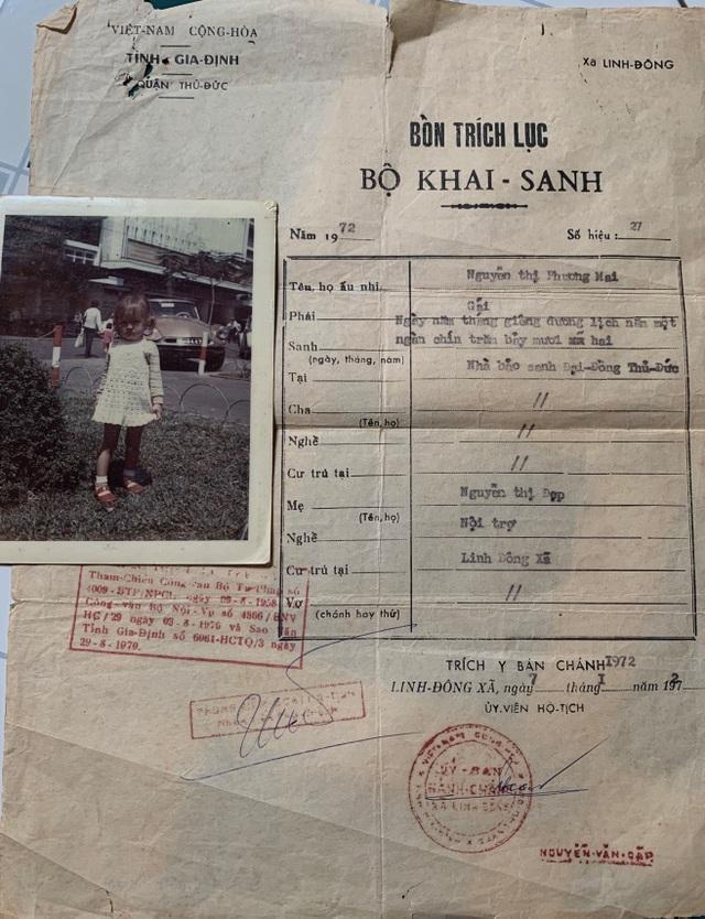 45 năm sau ngày gửi con đi Mỹ, nữ lao công trường học cạn sức tìm kiếm - 4
