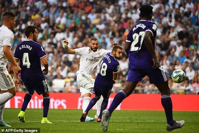Real Madrid đánh rơi chiến thắng đáng tiếc trước Valladolid - 4