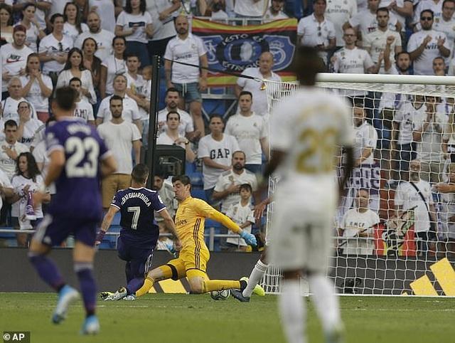 Real Madrid đánh rơi chiến thắng đáng tiếc trước Valladolid - 6