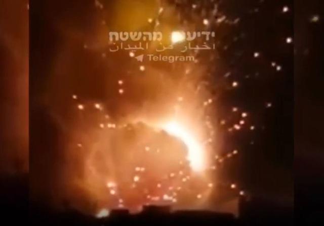 """Israel không kích Syria, chặn máy bay không người lái """"sát thủ"""" của Iran  - 1"""