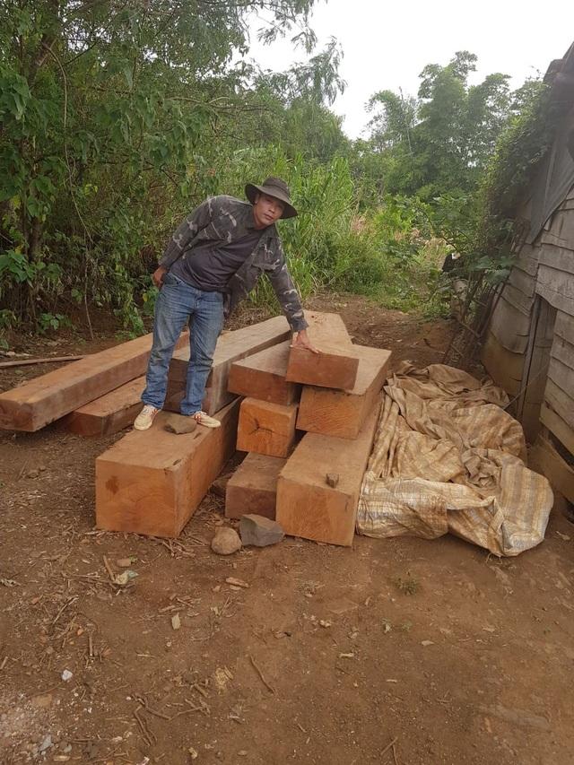 Đắk Lắk: Liên tiếp phát hiện 5 điểm tập kết gỗ lậu quy mô lớn - 2