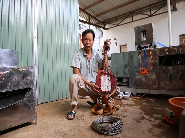 Bác nông dân Tây Nguyên chế tạo máy rửa chén công nghiệp - 4