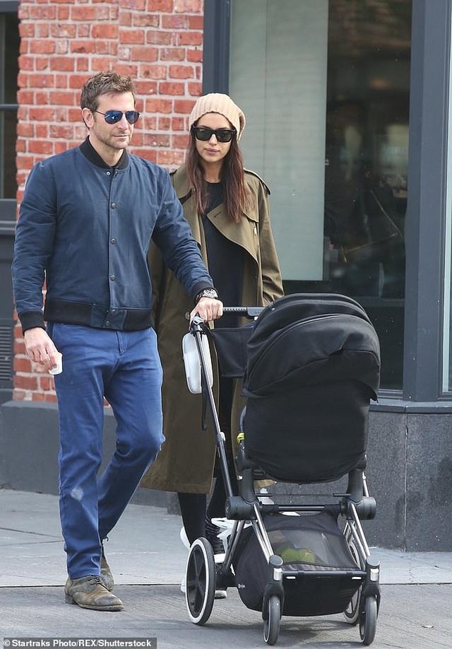 Bradley Cooper đưa con gái nhỏ đi chơi cuối tuần - 8