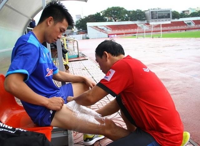 Huy Hùng báo tin vui đến HLV Park Hang Seo trước trận gặp Thái Lan - 1