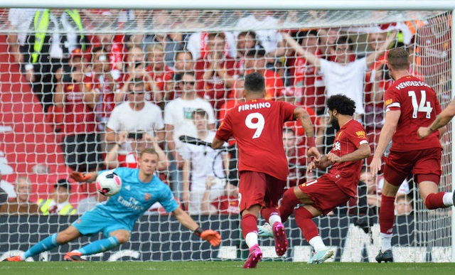 Những khoảnh khắc Liverpool hạ knock-out Arsenal ở Anfield - 14