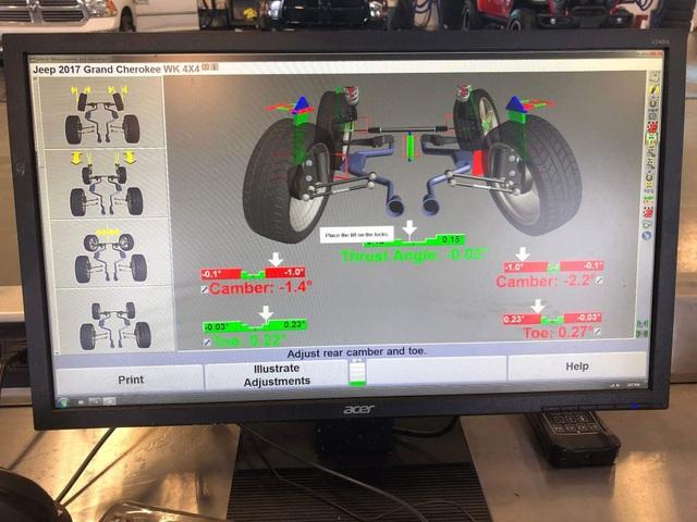Có cần thiết cân bằng động bánh xe và cân chỉnh thước lái? - 1