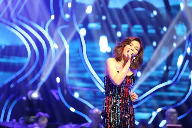 """Ngọc Anh 3A """"quyến rũ"""" khán giả với giọng hát đầy cảm xúc - 2"""