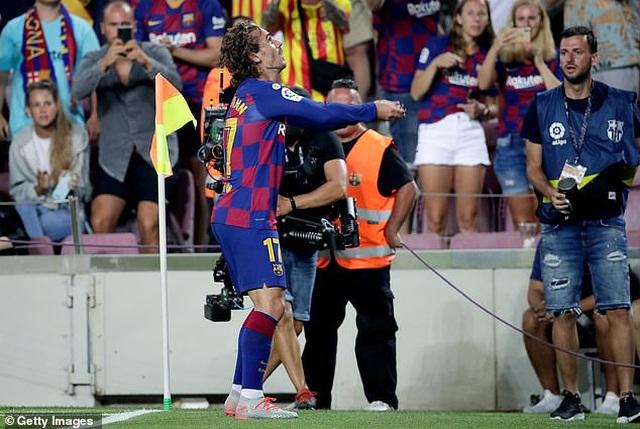 Barcelona 5-2 Betis: Cú đúp của Griezmann - 5