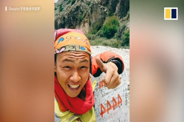 Chàng trai 20 tuổi đi bộ từ Trung Quốc tới 27 tỉnh thành ở Việt Nam - 2