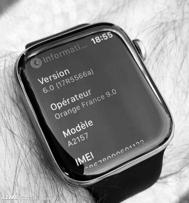 Lộ ảnh đồng hồ thông minh Apple Watch Series 5 sắp ra mắt - 1