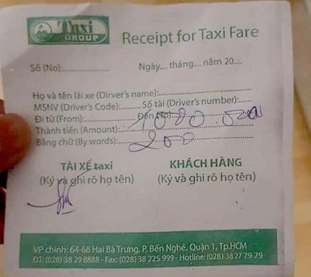 """Du khách Ấn Độ nghi bị tài xế taxi """"chém"""" 1,2 triệu đồng cho 8km ở Sài Gòn  - 1"""