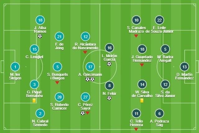 Barcelona 5-2 Betis: Cú đúp của Griezmann - 7