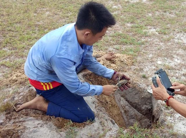 Theo chân thợ săn đào cát tìm hang, truy bắt thực phẩm tình yêu - 9