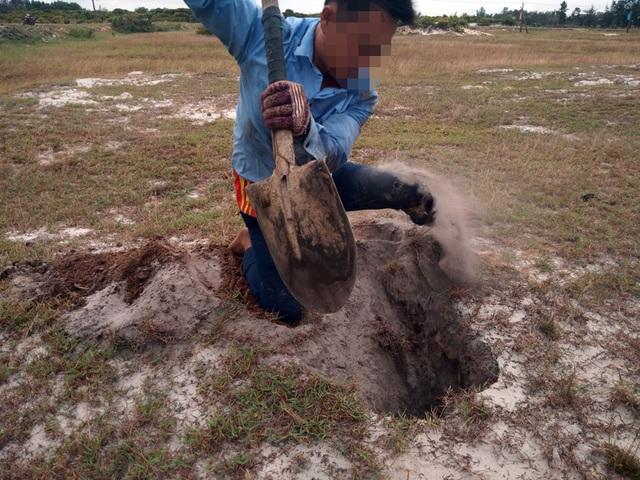 Theo chân thợ săn đào cát tìm hang, truy bắt thực phẩm tình yêu - 5