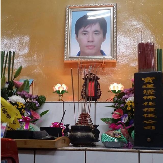 Vợ gục ngã khi nhận tin chồng bị điện giật chết tại Đài Loan - 1