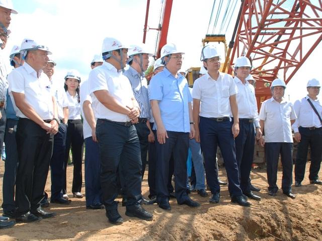 Phó thủ tướng Vương Đình Huệ làm việc với lãnh đạo Tiền Giang về cao tốc Trung Lương - Mỹ Thuận - 2
