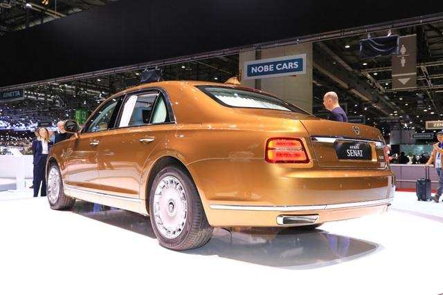 Rolls-Royce của nước Nga chốt giá tương đương hơn 6 tỉ đồng - 5